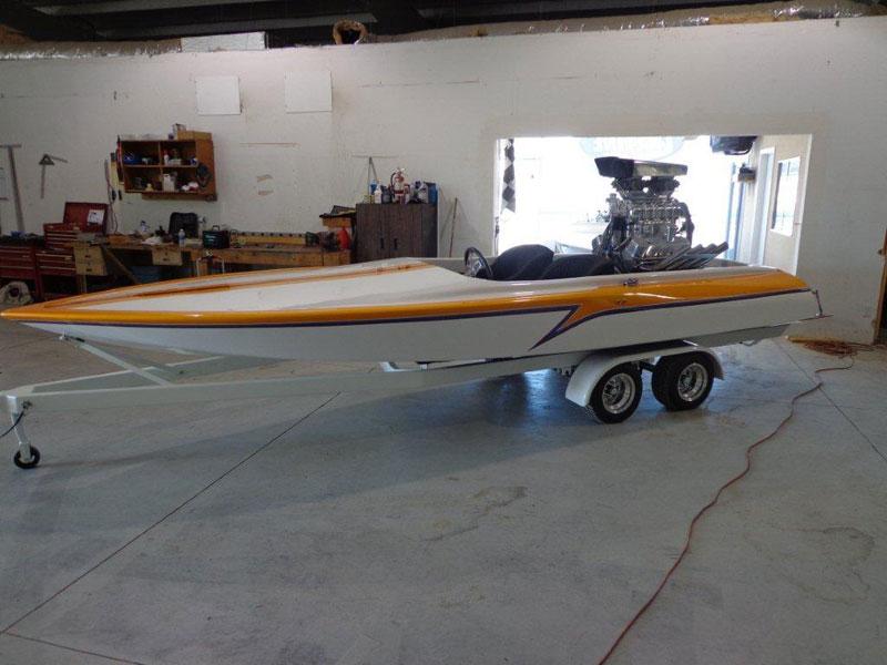 Drag Boats Unlimited 1971 Eliminator
